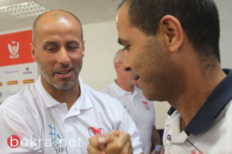 الاتحاد السخنيني يقدم مدربه البرازيلي سيبرسكي ومساعده ايمن خلايلة بمؤتمر صحافي