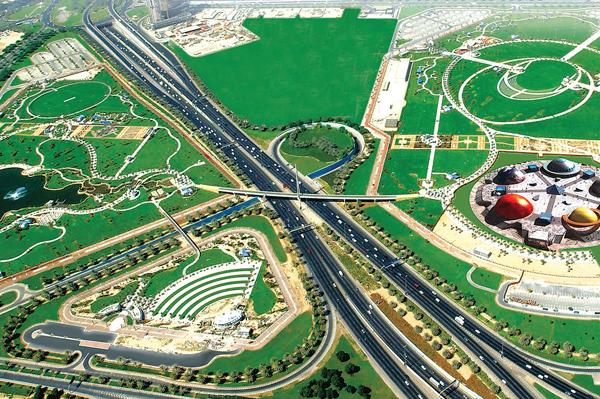 زيارة الى حديقة زعبيل في دبي؟