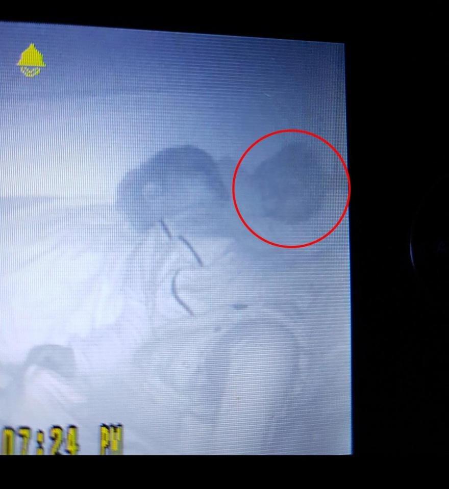لقطات مريبة في سرير الرضيع