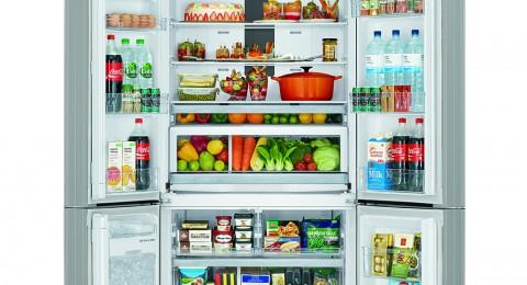 جديد من HITACHI- براد بـ 4 ابواب لتسهيل عملية تخزين المواد الغذائية