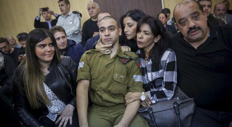 إدانة الجندي أليئور عزاريا بقتل الشهيد عبد الفتاح الشريف على خلفية انتقامية