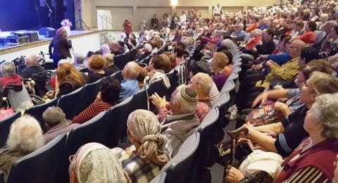 مسنو الجلبوع العرب واليهود يشاركون بجولة في الاماكن المميزة بالجلبوع