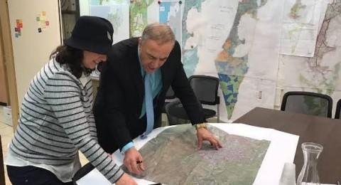 انجاز في التخطيط : توسيع مسطح نفوذ ابو غوش والمصادقة على بناء آلاف الوحدات السكنية!