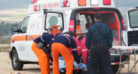 فتى يسقط عن دراجة قرب كفر مصر ويصاب بجراح