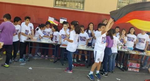 طلاب الأسقفية الكاثوليكية الابتدائية الإعدادية يختتمون الفصل الثاني بالأعمال الخيرية