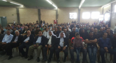 على خلفية مقتل محمود جبارين: عقد راية الصلح بين العائلتين في أم الفحم
