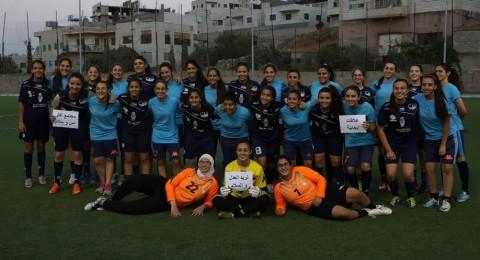 تنظيم مباراة كرة قدم نسوية بمناسبة اليوم العالمي للسلام