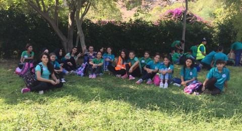 جولة وفعاليات مدرسية لطلاب المدرسة الاعدادية أورط مقيبلة