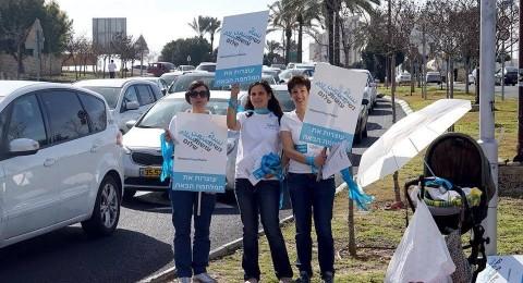 نساء يصنعن السلام في مسيرة من رأس الناقورة الى مقر رئيس الحكومة