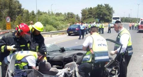 خسائر حوادث الطرق عام 2010- 7.75 مليار شيكل