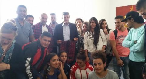 جمعية انماء في مخيم الشباب الدولي في المانيا