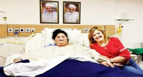 المصرية أسمن امرأة في العالم تفقد 100 كيلو خلال 3 أسابيع