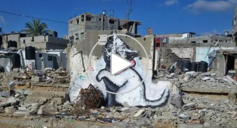 الفنان بانكسي ..اسم عالمي غامض