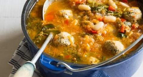 طريقة جديدة لتحضير الحساء المقدمة من مجلس تربية الدواجن