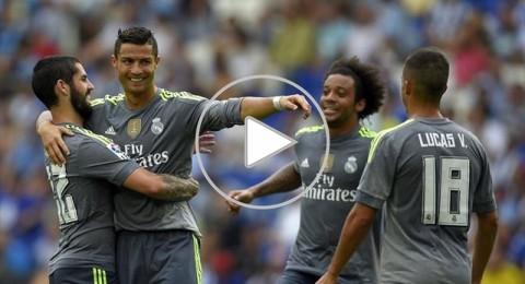 رونالدو يقود ريال مدريد لاكتساح إسبانيول