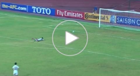إيقاف حارس مرمى لمدة عام تلقى أغرب هدف في تاريخ المستديرة!
