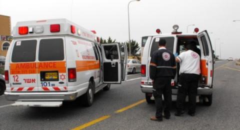 حادث طرق مروع بين شاحنة ومركبة في جلجلوية وإصابة شاب