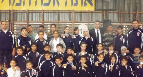 تألق منتخب رابطة الكراتية في بطولة اسرائيل للكراتية شوتوكان التقليدي