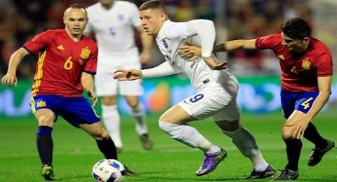 إسبانيا تفوز على إنجلترا وديا بهدفين نظيفين