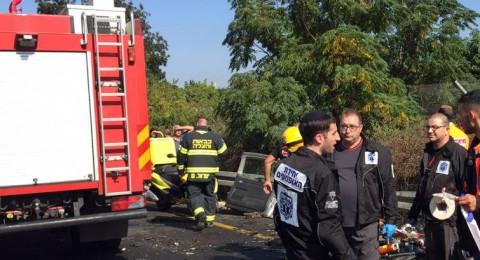حريق في تجمع لسيارات الخردة بوادي الحمام