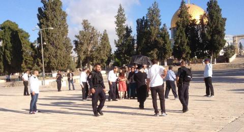 القدس: إصرار إسرائيلي على المساس بحرمة الأقصى