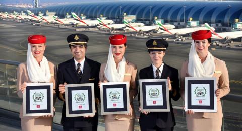 """طيران الإمارات يفوز بجائزة """"TripAdvisor"""" لأفضل طيران في العالم"""