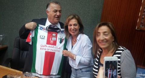 وفد من تشيلي ذو أصول فلسطينية يزور الناصرة وبلديتها