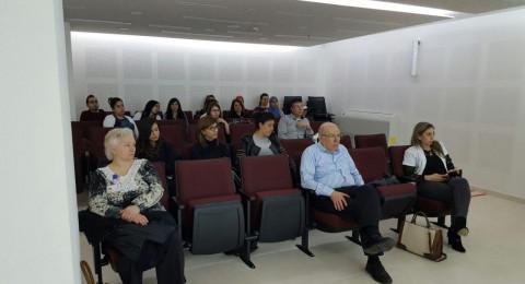 محاضرات لطاقم مستشفى الفرنسي في مجال العنف ضد النساء