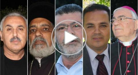 في الناصرة صوت واحد: لا للفتنة، شعب واحد يستنكر الارهاب