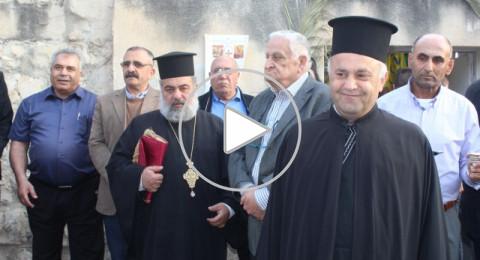 الرينة:مسلمون ومسيحيون يستقبلون سبت النور بأجواء مليئة بالمحبة والتآخي
