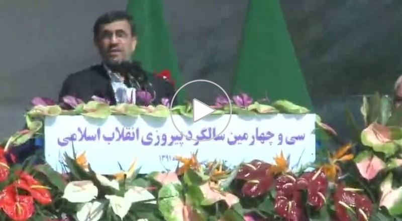 إيران تحتفل بالذكرى الـ34 للثورة الإسلامية