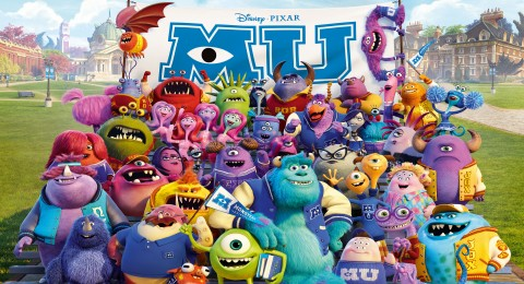 جامعة المرعبين - Monsters University -مدبلج