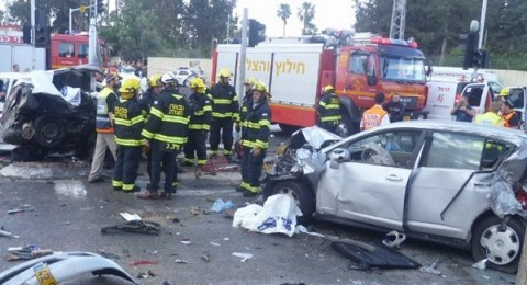 8 مارّة قُتلوا في البلدات العربية خلال السنوات الخمس الأخيرة بالحوادث التي تورطت بها الشاحنات
