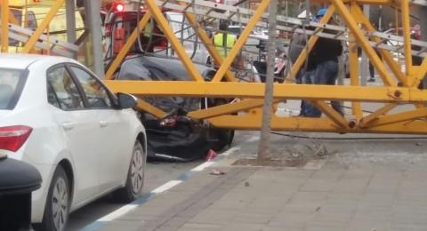إصابات بينها خطيرة اثر انهيار رافعة في بات يام!