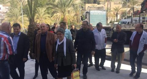 جولة ميدانية للجنة الصحة البرلمانية لمستشفيات الناصرة