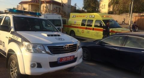اصابة خطرة لعامل فلسطيني خلال تواجده في ورشة عمل