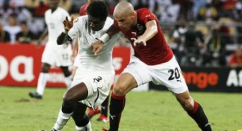 غانا تسحق مصر وتضمن التأهل في 90 دقيقة