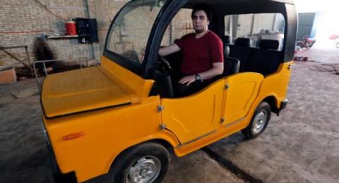 """مصري يُنهي أسطورة """"التوكتوك"""" ويصنع سيارة صغيرة بسعر 34 ألف جنيه"""