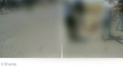 فيسبوك ترفض حذف صور جثث ضحايا حادث جنين الدامي 