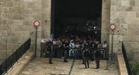 القدس: اصابة يهودي متدين في البلدة القديمة