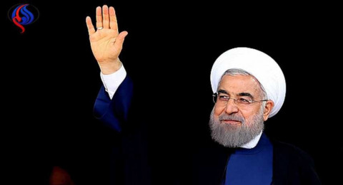 الإعلان عن فوز روحاني بولاية ثانية