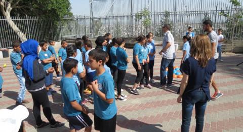يوم المعابر يتحول لكرنفال احتفالي في مدرسة عاطف خطيب الإعدادية في شفاعمرو