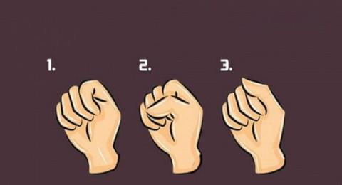 من 1 إلى 3- شكل قبضتكم يكشف شخصياتكم وأمراضكم... اختبروا ذلك!