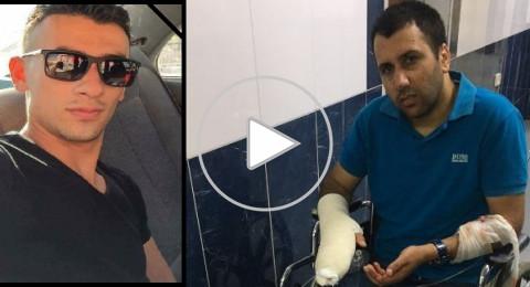 بالفيديو... تفاصيل استشهاد شاب وإصابة صحفي برصاص مستوطن في حوارة