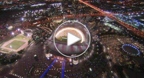 افتتاح ملعب مونديال قطر 2022 أبهر العالم وأذهل إنفانتينو