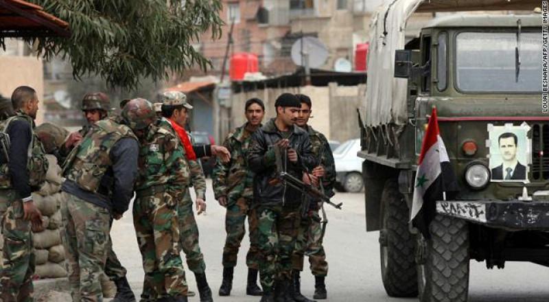 أمريكا تقصف قافلة عسكرية للجيش السوري!
