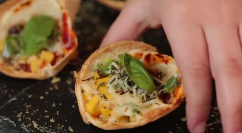 طريقة تحضير ميني بيتزا