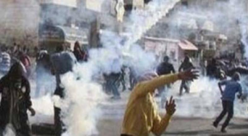 إصابات بالرصاص الحي في مواجهات رام الله  ومستعربون