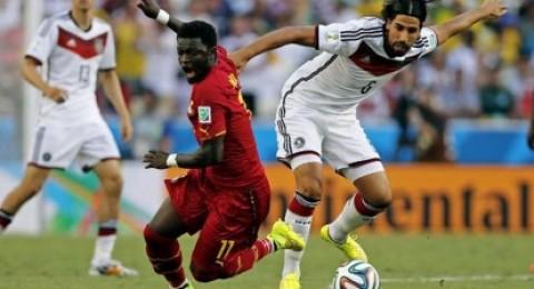 تعادل مثير بين المانيا وغانا وكلوزه يعادل رقم البرزيلي رونالدو