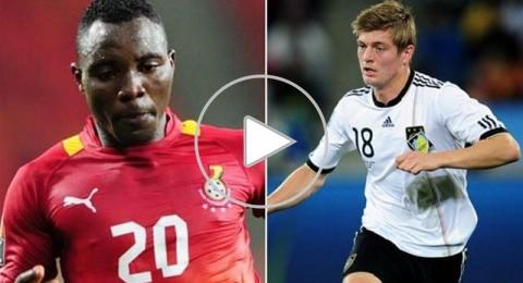 الليلة في مونديال 2014 ..صراع اللاعبين الشباب بين لاعبي وسط ألمانيا وغانا